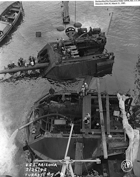 http://www.fortwiki.com/images/e/e5/USS_Arizona_Turrets_3_-_4_%28FCP%29_-_NARA_-_296940.jpg