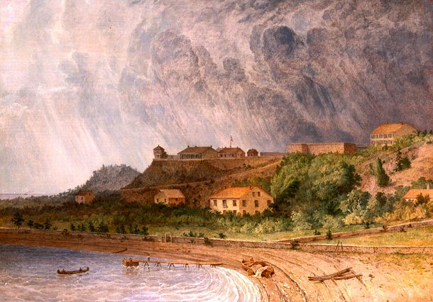 File:Fort Mackinac by Seth Eastman.jpg