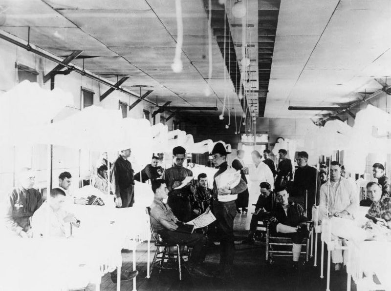 File:Camp Devens Hospital LOC 3c08266v.jpg