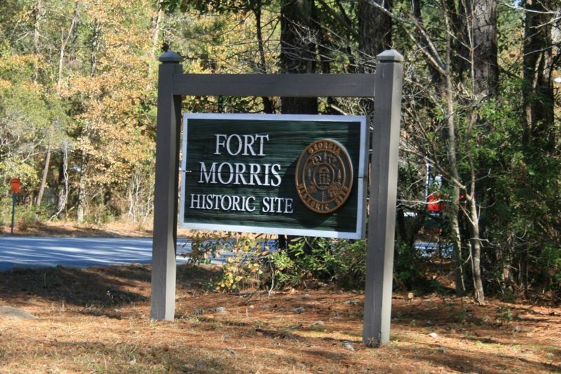 File:Fort Morris Sign.jpg