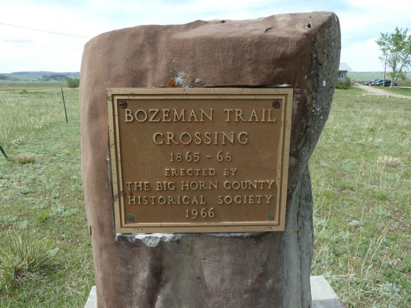 File:Fort C.F. Smith Bozeman Trail Marker - 2.jpg