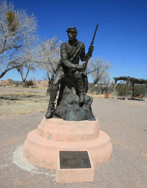 File:Fort Selden Statue.jpg