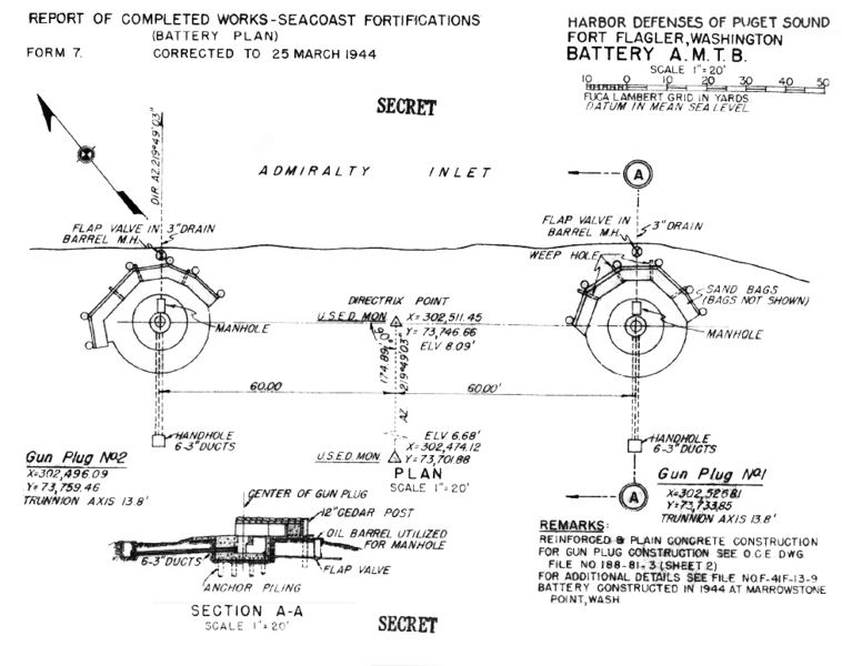 File:Fort Flagler Battery AMTB Marrowstone Point Plan(rev).jpg