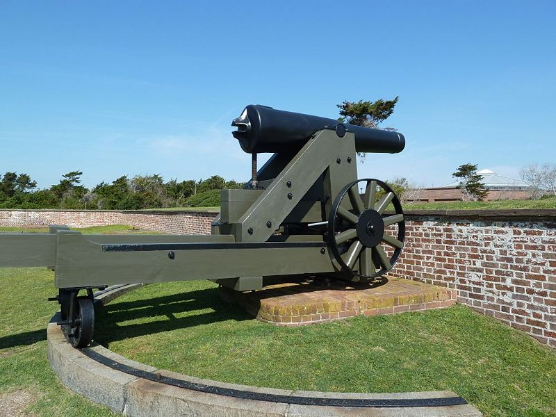 File:Fort Macon Hot Cannon - 1.jpg