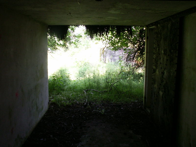 File:Battery O'Flying Front Passage Way Entrance - Gun Emplacement 2 - Inside.JPG