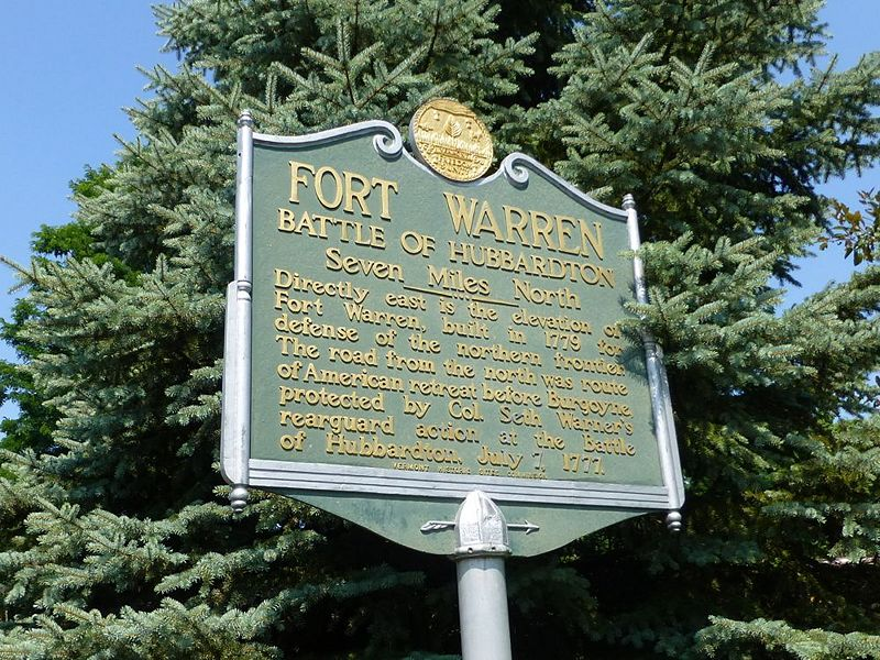 File:Fort Warren State Marker - 1.jpg
