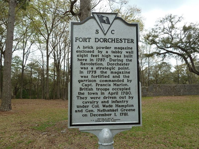 File:Fort Dorchester Marker.jpg