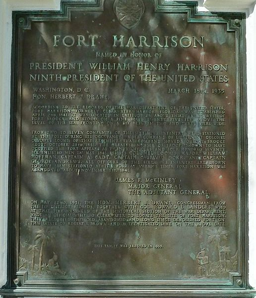 File:Fort Harrison Marker Text.jpg