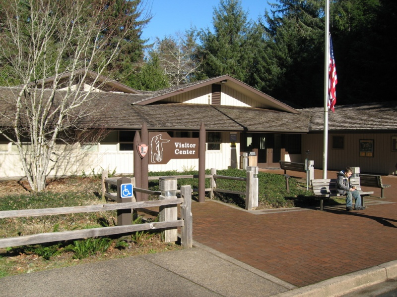 File:Fort Clatsop - Visitor Center.jpg