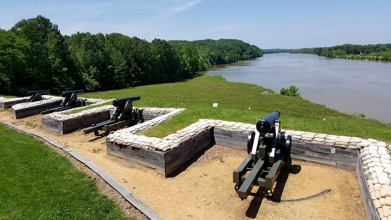 Fort Donelson FortWiki Historic US And Canadian Forts - Fort donelson on us map