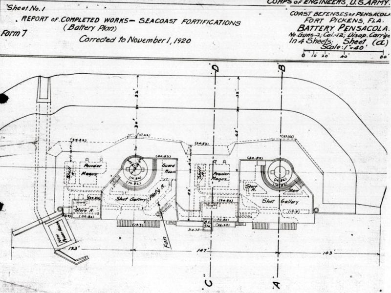 File:Fort Pickens Battery Pensacola Plan.jpg