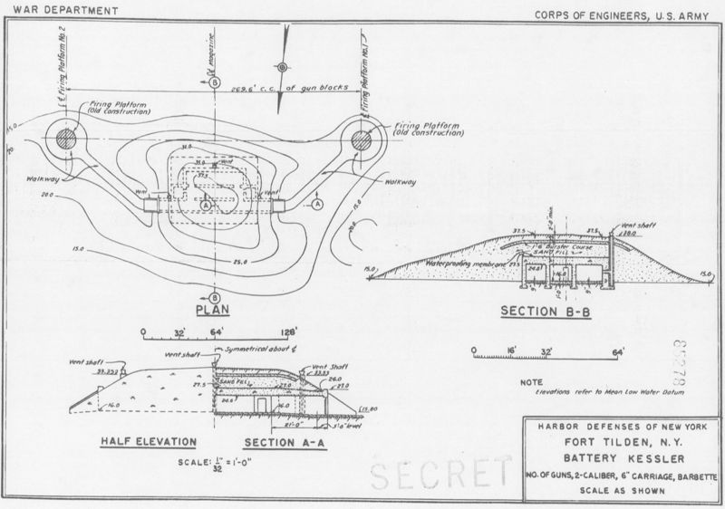 File:Fort Tilden, Battery Kessler Plan - 1.jpg