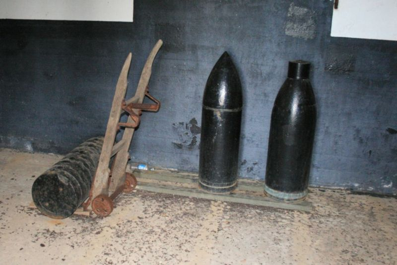 File:Fort Morgan Battery Duportail Shells.jpg