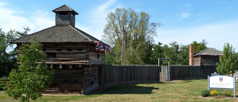 File:Fort Recovery Stockade & Blockhouses.jpg